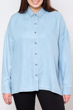 RVCA Relaxed Chambray Shirt - Product List Image