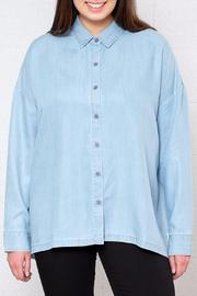 RVCA Relaxed Chambray Shirt - Product Mini Image