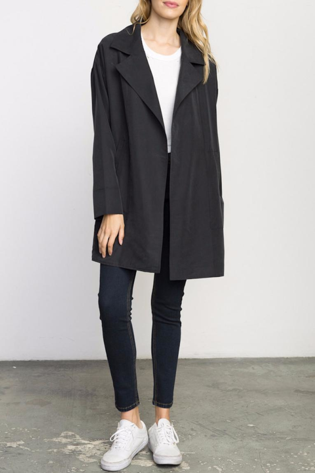 concepts by deep size i suede draped jacket blazer inc front international and drapes black faux
