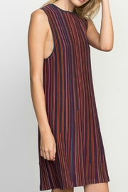 RVCA Striped Knit Dress - Front cropped