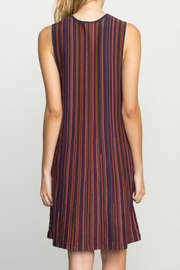 RVCA Striped Knit Dress - Front full body