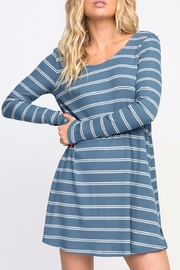RVCA Striped Swing Dress - Front cropped
