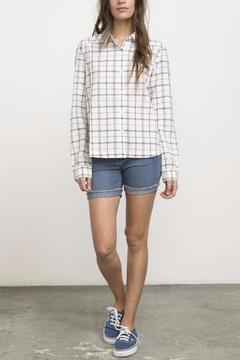 RVCA Subject Plaid Top - Product List Image