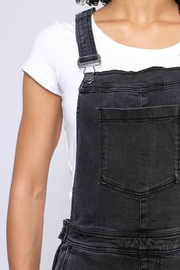 RVCA Sweetness Cropped Overalls - Back cropped