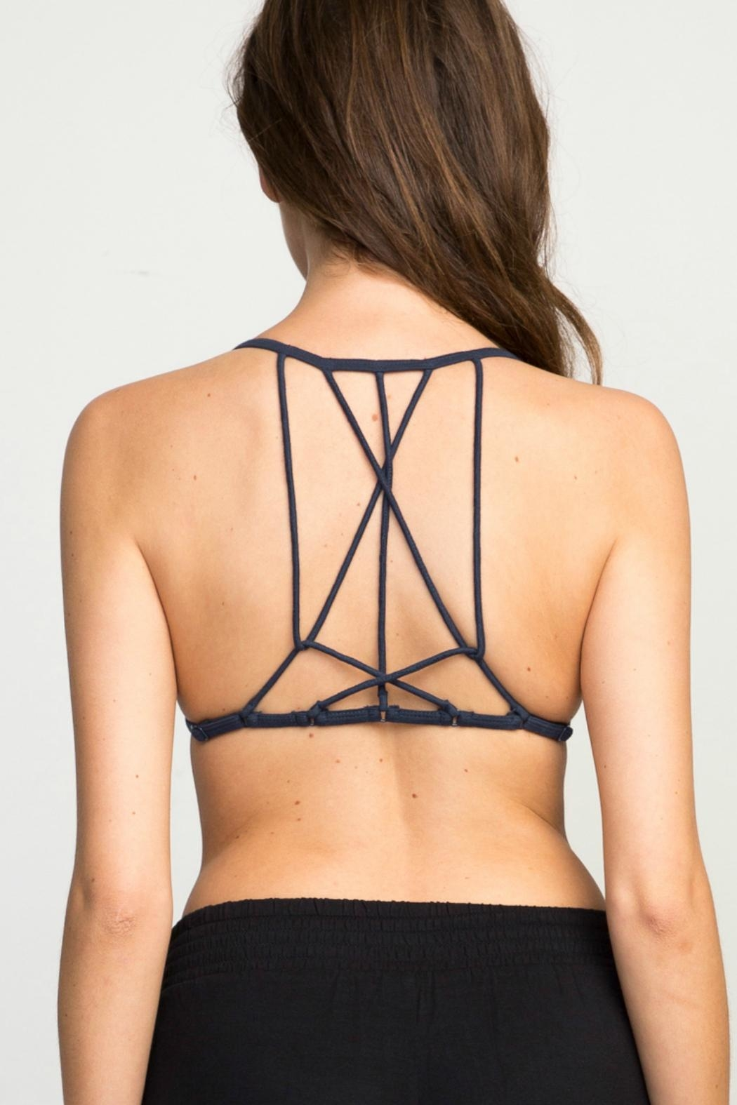 RVCA The Babe Bralette - Front Full Image