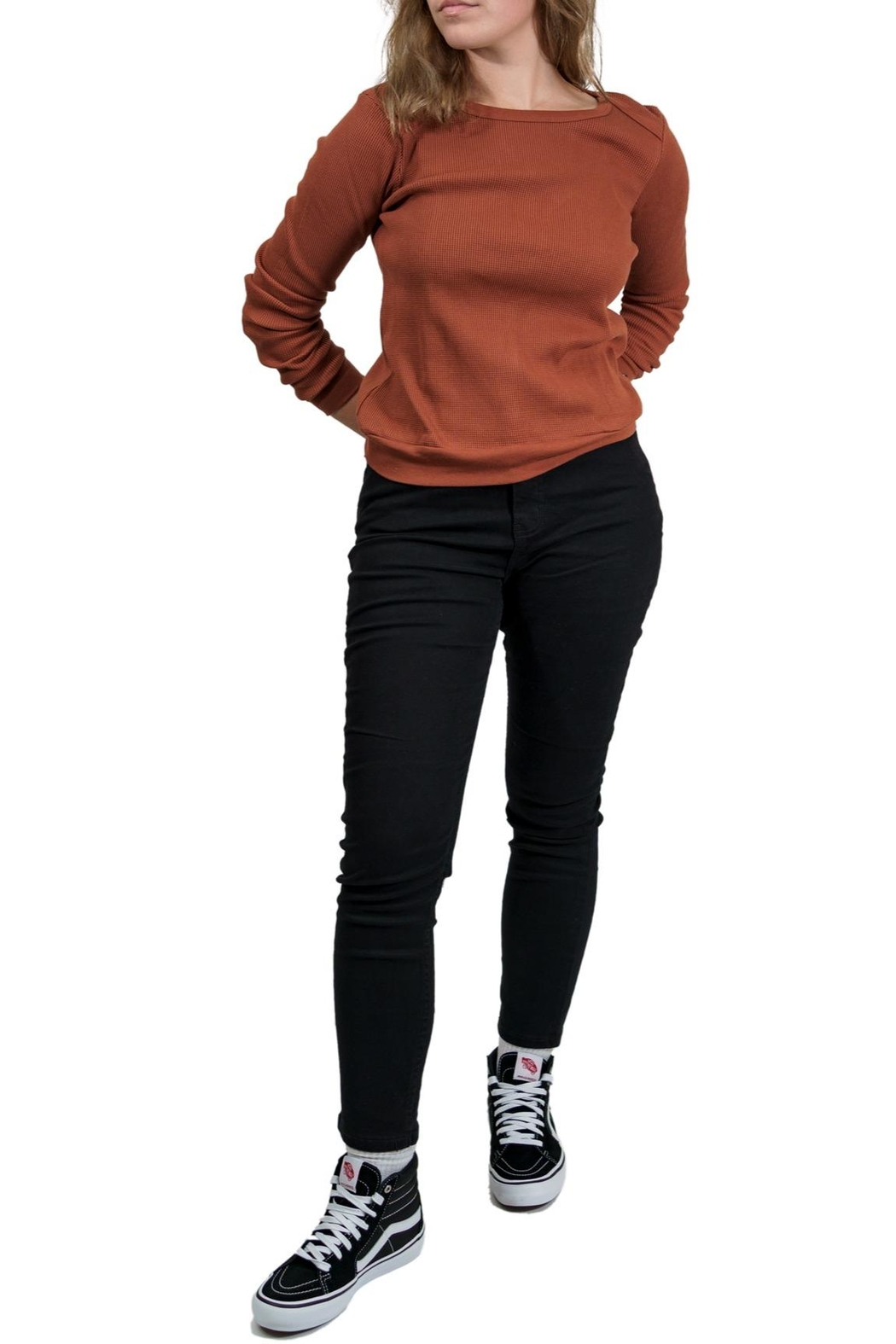 RVCA Thermal Long Sleeve - Front Full Image