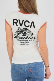 RVCA Wrecking Crew Tee - Front full body