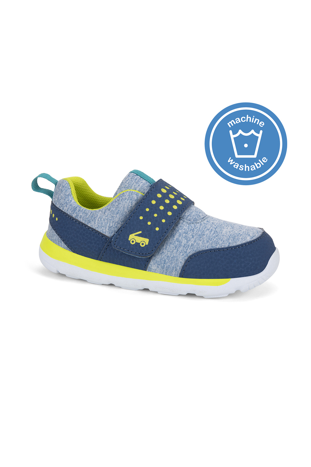 See Kai Run  Ryder Washable Sneakers - Front Cropped Image