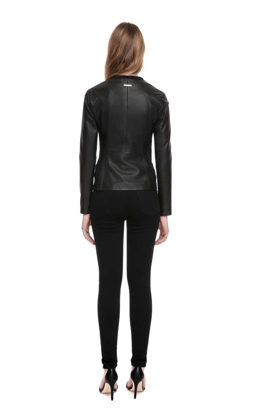 Soia & Kyo Rylee Leather Jacket - Back Cropped Image