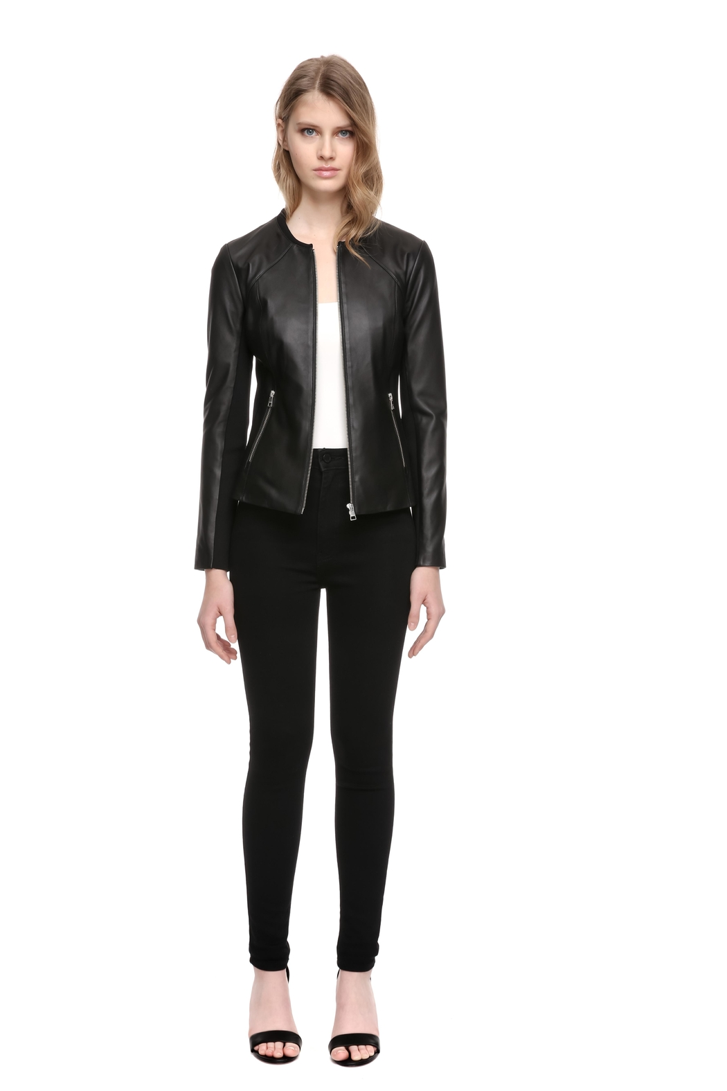 Soia & Kyo Rylee Leather Jacket - Main Image