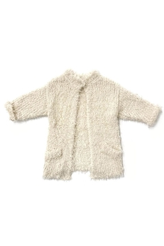 Shoptiques Product: Furry Knit Sweater
