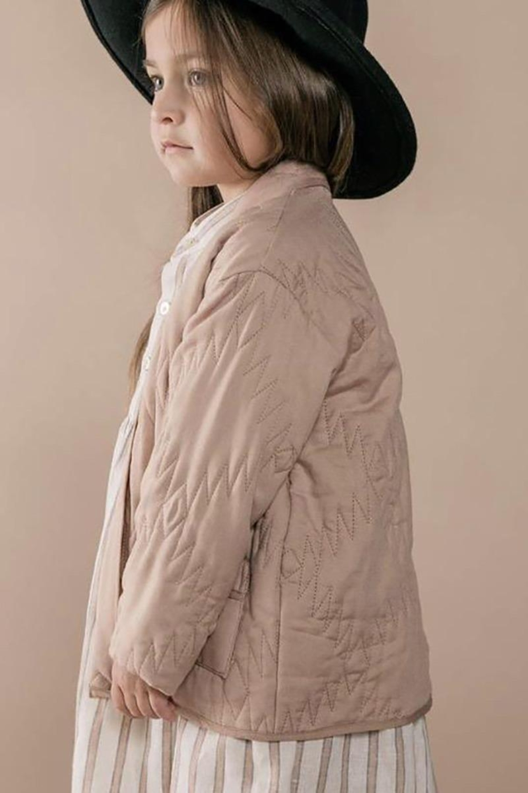 Rylee & Cru Girls Quilted Jacket - Front Full Image