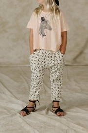 Rylee & Cru Horse Boxy Tee - Front cropped