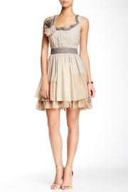 Ryu Beige Patched Dress - Product Mini Image