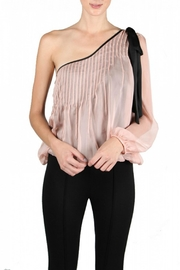 Ryu Blush One Shoulder - Front cropped