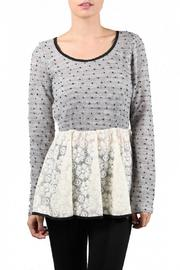 Shoptiques Product: Bow Sweater - Front cropped