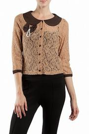 Shoptiques Product: Brown Cardigan - Front cropped