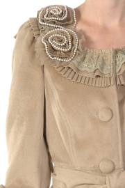 Ryu Camel Tie Coat - Side cropped