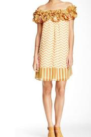 Ryu Chevron Dress - Front cropped