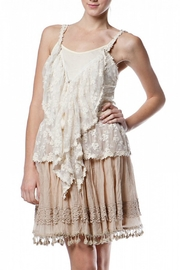 Ryu Cream Lace Vest - Product Mini Image