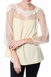 Ryu Cream Romance Blouse - Product Mini Image
