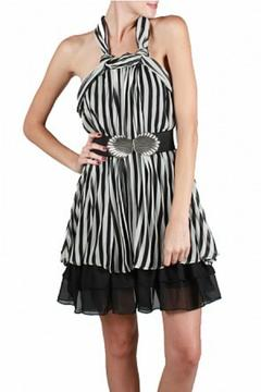 Shoptiques Product: Crinkle Halter Dress