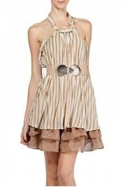 Ryu Crinkle Halter Dress - Product Mini Image