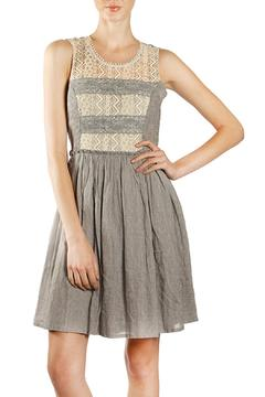 Shoptiques Product: Crochet Detail Dress