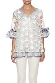 Ryu Dreamy Lace Overlay Top - Side cropped