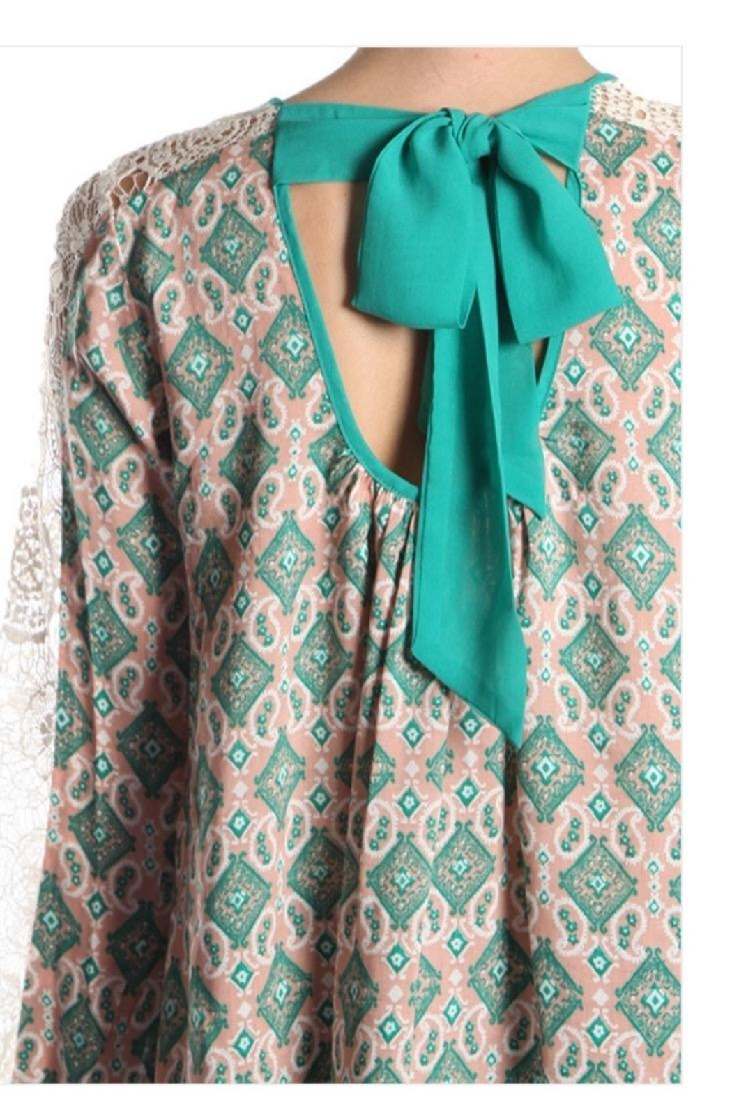 Ryu Ethnic Print Top - Side Cropped Image