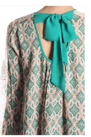 Ryu Ethnic Print Top - Side cropped