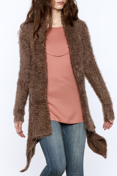 Shoptiques Product: Cocoa Fuzzy Sweater