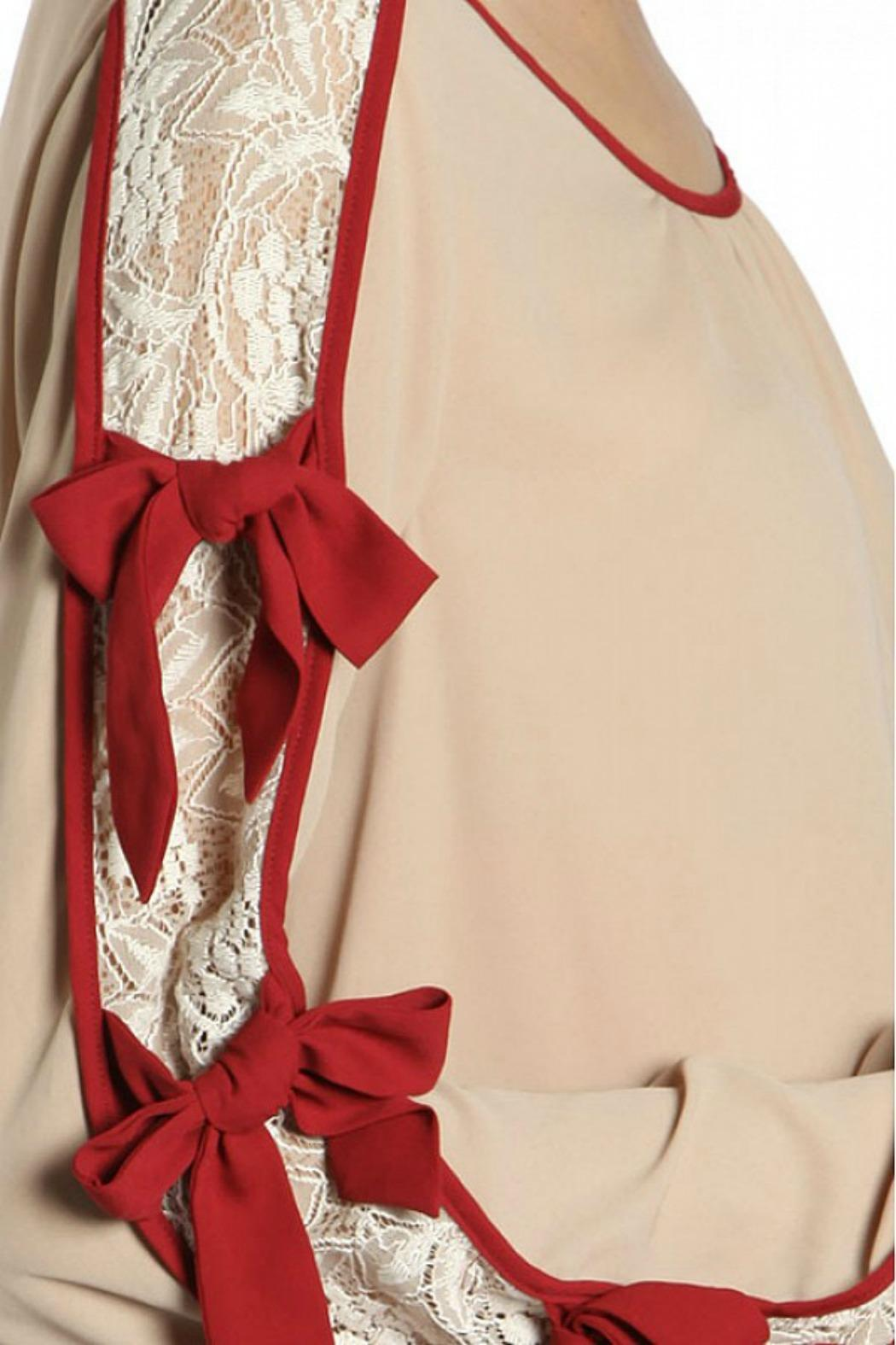 Ryu Holiday Lace Top - Front Full Image