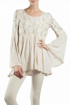 Ryu Lace Crochet Top - Product List Image