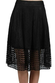 Ryu Lace Overlay Skirt - Product Mini Image