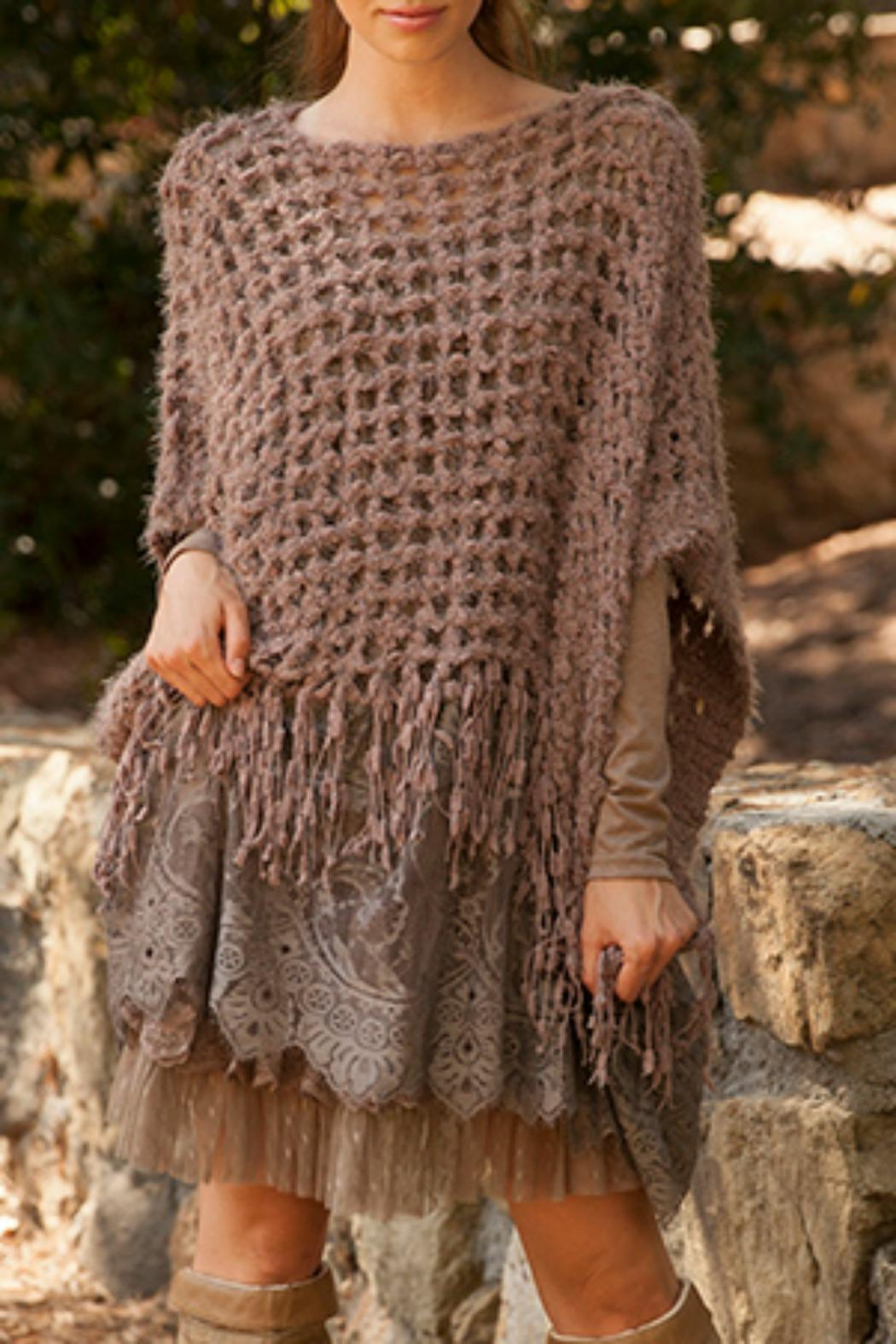 Ryu Lace Poncho Sweater from Texas by BareTrees Boutique — Shoptiques