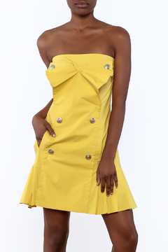 Shoptiques Product: Strapless Bow Dress