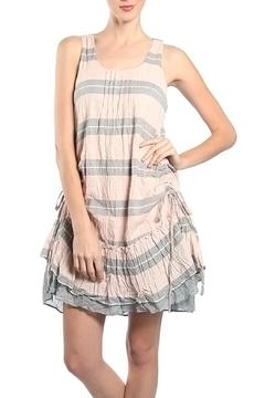 Shoptiques Product: Striped Overlay Dress