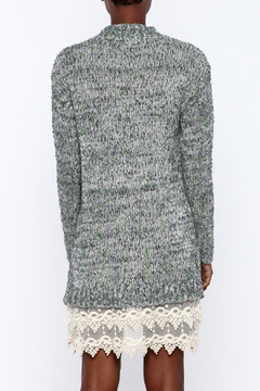 Shoptiques Product: Sweater Dress With Lace