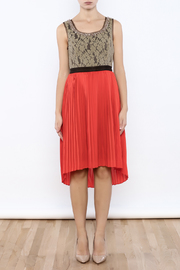 Ryu Tangerine Tango Dress - Front cropped