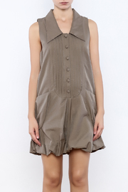 Ryu Taupe Romper - Side cropped