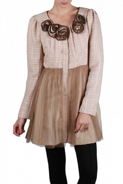 Shoptiques Product: Tulle Tweed Coat