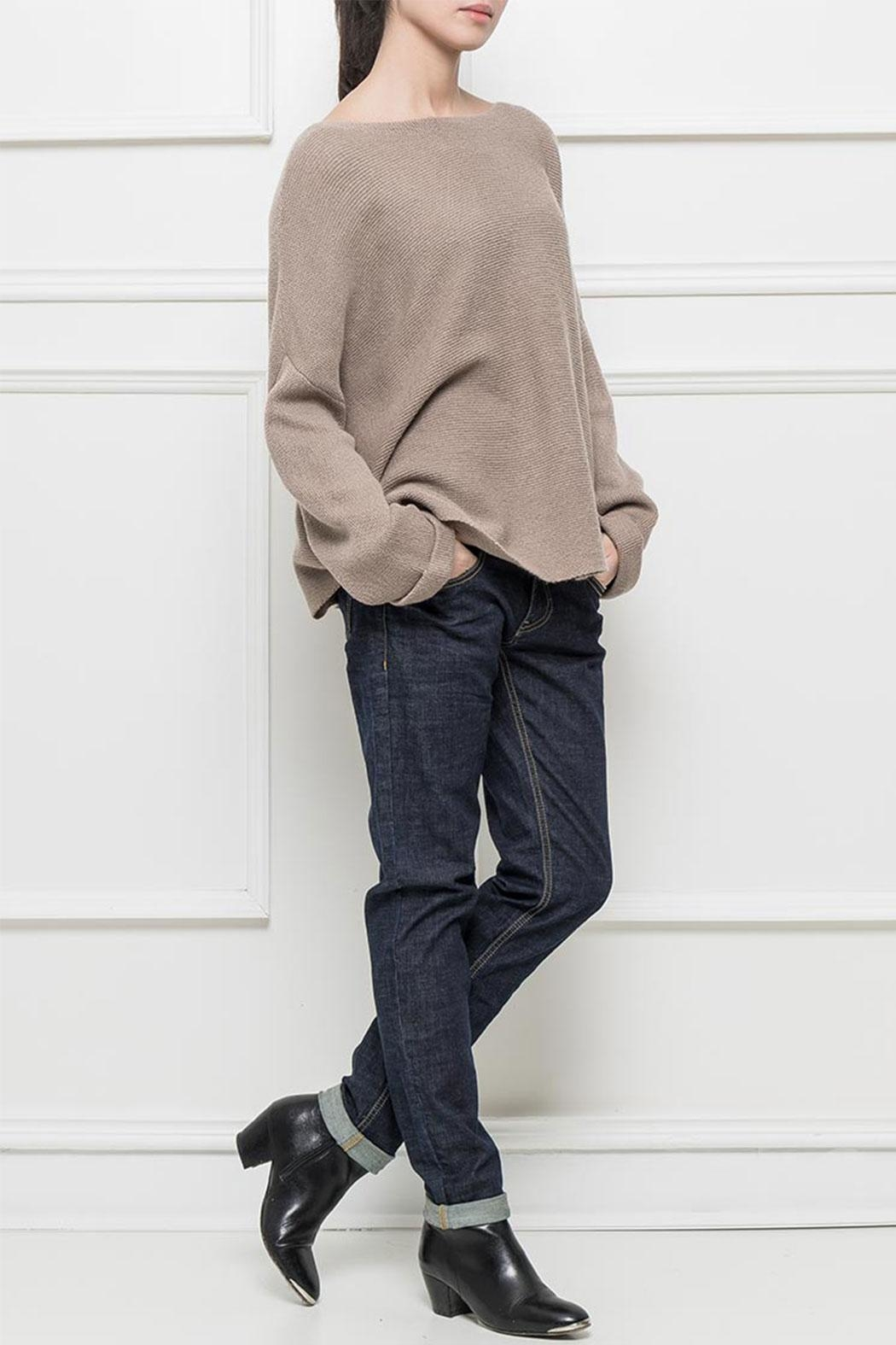 RYUJEE Placide Oversize Sweater - Front Cropped Image