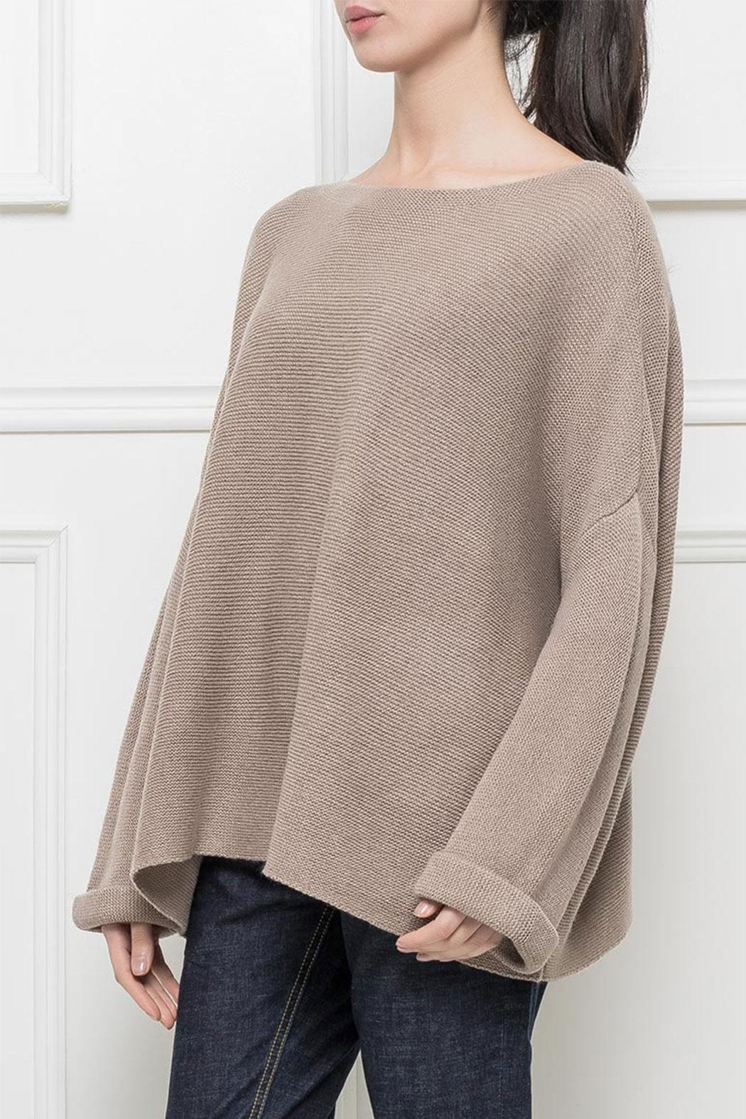 RYUJEE Placide Oversize Sweater - Side Cropped Image