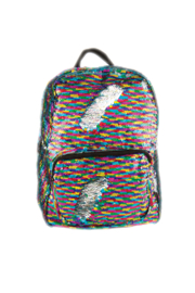 Fashion Angels S. Lab Magic Sequin Backpack- Rainbow/ Silver - Product Mini Image