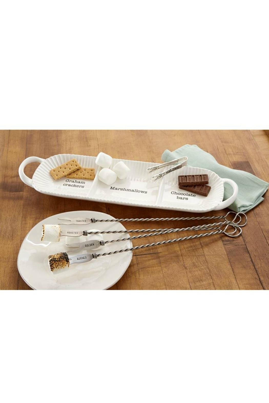 Mud Pie S'mores Seving Set - Side Cropped Image