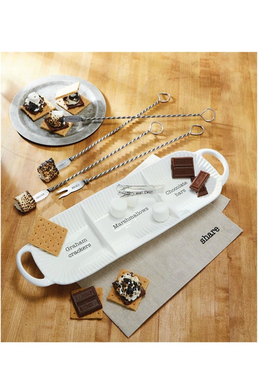 Mud Pie S'mores Seving Set - Front Full Image