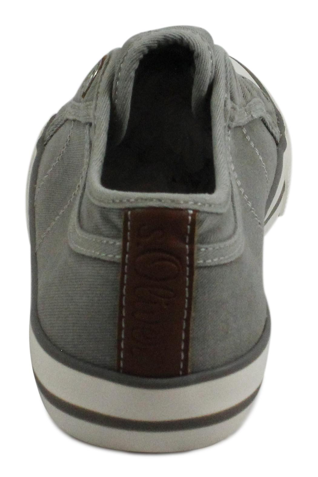 s.Oliver Grey Casual Runner - Side Cropped Image