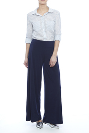S-Twelve Palazzo Pants - Front full body