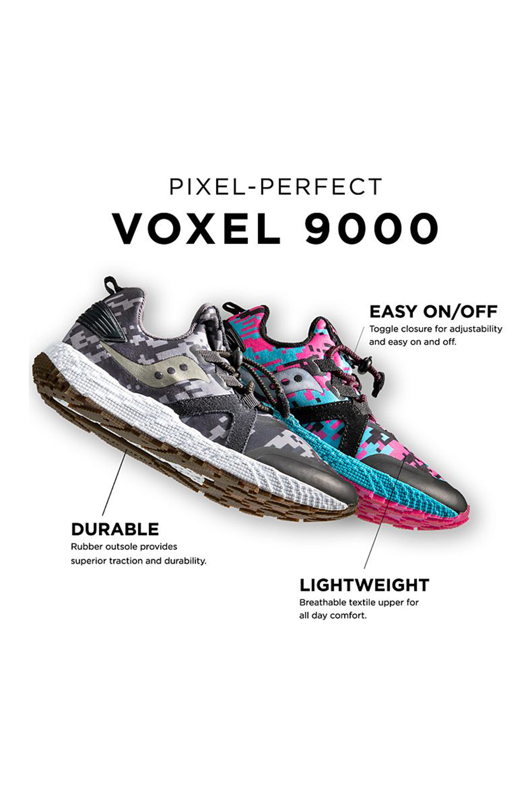 Saucony S-Voxel 900 Sneaker - Front Cropped Image
